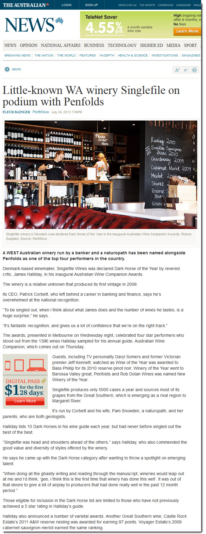 Singlefile Wines | Latest News and Wine Reviews