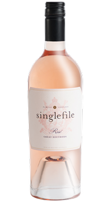 2020 Singlefile Great Southern Rosé