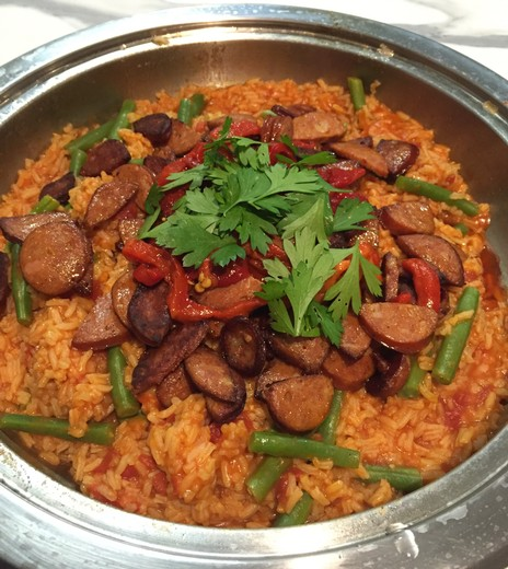 Chorizo, Cumin and Tomato Rice